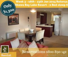 Last School Holiday Week - Resort Rental up for grabs - Jan 2015 www.nz/for-rent. Bay Lake, Rental Listings, Lake Resort, Hotel Amenities, All Holidays, Heated Pool, Bed, Christmas Holiday, 30th