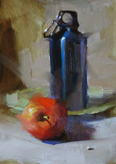 "The New Still Life includes the ""new metals"". Is it now a ""Steel Life""? I love it!... Qiang Huang"