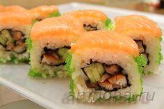 Как готовить суши и роллы | Суши-блог Easy Cooking, Cooking Recipes, Japanese Sushi, Sashimi, Salmon, Seafood, Rolls, Food And Drink, Lunch