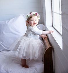 I just doesn't get any more magical than this! Girls Dresses, Flower Girl Dresses, 1st Birthday Outfits, First Birthdays, Joy, Wedding Dresses, Clothes, Instagram, Fashion