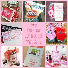 Easy Valentine Gift Ideas for Teachers