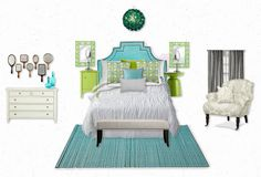 "I want a ""grown-up"" bedroom that ISN""T matchy, matchy..."
