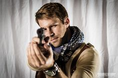 Nathan Drake cosplay by Emory Cash. Photography by Double Stomp Productions.