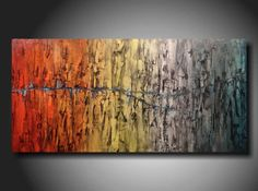 Large  painting Original abstract Painting modern by JMJARTSTUDIO