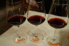 """Regional wine flight at ""E lucevan le stelle"" Wine Bar in #Montepulciano (courtesy of Koukat and Tripadvisor)"
