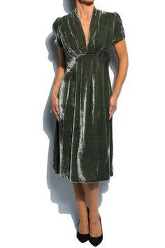 Бархатное платье | Черное бахатное платье