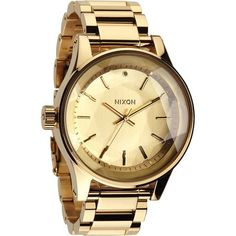Nixon A384-502 The Facet Women's Gold Watch NIXON