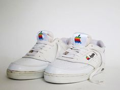 Authentic Vintage Apple Sneakers