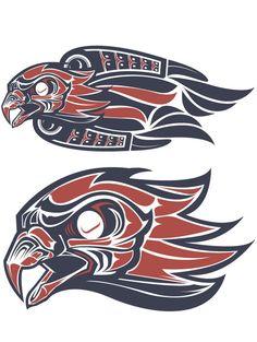 Marquesan tattoos – Tattoos And Haida Kunst, Arte Haida, Haida Art, Native American Horses, Native American Artwork, Native American Symbols, Doodles Zentangles, Haida Tattoo, Marquesan Tattoos