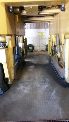 Hyster Straddle Carrier Truck from ebay