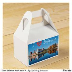 I Love Belarus Mir Castle Architecture Мирский Favor Box Party Items, Favor Boxes, Favors, Castle, Container, Architecture, My Love, Party Stuff, Arquitetura