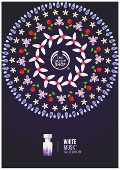 The Body Shop Campaign by Tom Anders, makes me think of the POW poster I did.  Love this concept...I have a thing for circles