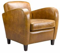 Brandon leather occasional chair from Laura Ashley Art Deco Chair, Art Deco Furniture, Furniture Design, Club Chairs, Dining Chairs, Lounge Chairs, Living Room Photos, Living Spaces, Examples Of Art