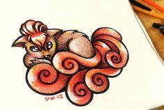 Heehee awesome! :D  Vulpix by *16Shokushu on deviantART