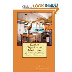 Pantry Storage, Kitchen Organization, Kitchen Storage, Kitchen Aid Appliances, Yolo, Getting Organized, Storage Solutions, Bathroom Medicine Cabinet, Make It Simple