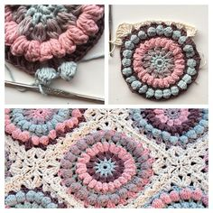 Mom's Square - FREE Pattern Tutorial.