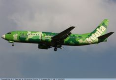 "Kalula Airlines - ""Camoflage"" aircraft"
