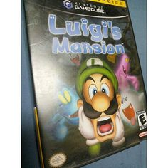 On instagram by xnintendo_queenx #retrogames #microhobbit (o) http://ift.tt/1Ta6fih this game. Used to creep me out. #luigismansion #luigi #weegee #supermario #supermariobros #mariobros #nintendogamecube #gamecube #nintendo #ninstagram #nin10do #justnerdthings #nostalgia #childhood #classic #retro