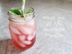 Meet Me At the Mistletoe Martini. YUM.