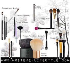 Les pinceaux de maquillage et leur utilisation