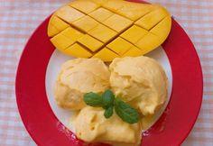 Házi mangófagylalt