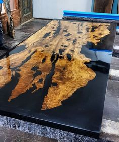 Olive epoxy resin table with Olive epoxy consol,live edge,epoxy river table,slab single table,resin coffe table,custom special firnuture