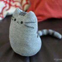 Kawaii Kitten Pusheen Cat Sock Softie