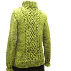 Sona Celtic Cable Cardigan Knitting pattern by SylviaHDesigns Cable Cardigan, Green Cardigan, Sweater Knitting Patterns, Cardigan Pattern, Lang Yarns, Plymouth Yarn, Dress Gloves, Yarn Brands, Red Heart Yarn