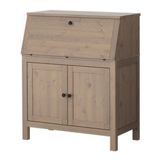HEMNES Secreter - marrón grisáceo - IKEA
