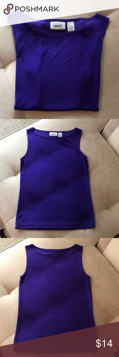 Studio Works Woman  Size 3X  Cobalt Blue Tank Top  New with Tags