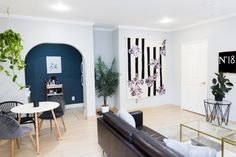 Less than $300 goes a long way in this living room inspired by tumblr and minimalism!