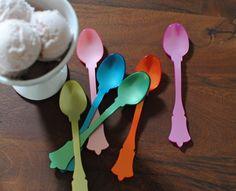 beautiful demitasse spoons