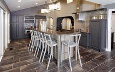 Contemporary Kitchen, Interior Design,. Designer: Nancy Stanley, Kitchens By Design. www.mykbdhome.com