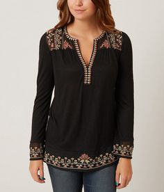 Lucky Brand Embroidered Top - Women's Shirts | Buckle