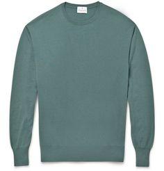 Kingsman - 30-Gauge Cashmere Crew Neck Sweater