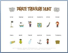 FREE Printable Piano Game with Pirates