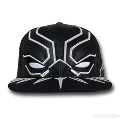 0dffbc35c Black Panther Armor New Era 5950 Hat Caps Game, 59fifty Hats, New Era Hats