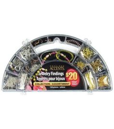 Cousins Precious Accents Jewelry Finding Collection-158PK/Gold,Silver