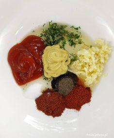 Marynata do karkówki | AniaGotuje.pl Grilling, Spaghetti, Menu, Ethnic Recipes, Food, Menu Board Design, Crickets, Meals, Grill Party