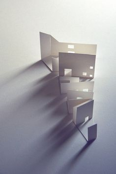 Creative Paper, Model, Basic, Arquitectura, and Architecture image ideas & inspiration on Designspiration Architecture Design, Architecture Drawings, Concept Architecture, Landscape Architecture, Paper Architecture, Architecture Models, Shadow Architecture, Triangular Architecture, Layered Architecture