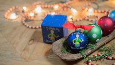 Get a sentimental feeling and celebrate the birth of Jesus with our carol-inspired Little Drummer Boy Ornament. Designed with the beloved boy and his drum in festive holiday hues, this colorful ornament puts a song in the heart and adds joy to the home. Personalize it with a name and date to create a meaningful keepsake. All ornaments come boxed and tied with a coordinating ribbon making them the perfect gift for anyone.