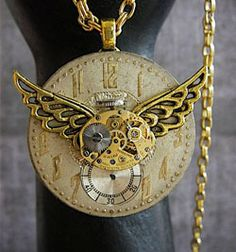 Time Traveler VI necklace by 'Steampunk Junk'