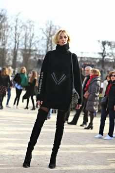 It's all about the boots. #AnjaRubik