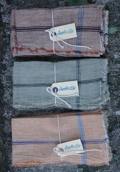 AUNTIE OTI Color Napkin Set