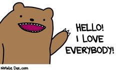 Comic by Natalie Dee: i really really do
