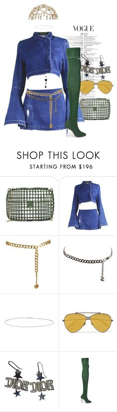"""He be knowing you got it."" by thaijohnson ❤ liked on Polyvore featuring Anndra Neen, Alexander McQueen, Chanel, Suzanne Kalan and Wales Bonner"