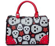 Folter Stars Skulls Handbag-Purses & Handbags