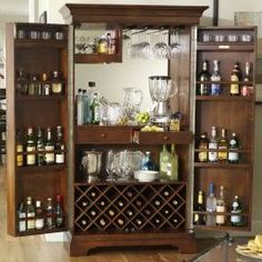 alexandria sliding top bar cabinet in black finish alexandria bar and kitchen island bar