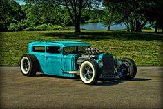1931 Ford Model A Sedan Rat Rod