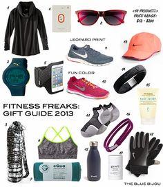 """""""Fitness Freaks"""" Gift Guide via TBB"""